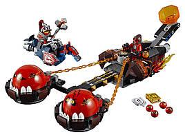 LEGO Nexo Knights Безумная колесница Укротителя Beast Master's Chaos Chariot 70314
