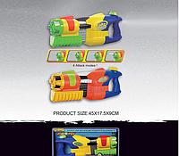 Детское водяное оружие 45см gt-1800h меняются струи,с накачкой коробке 45*17,5*9 см