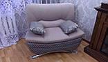 Перетяжка дивана с креслом. Перетяжка мягкой мебели Днепр., фото 2