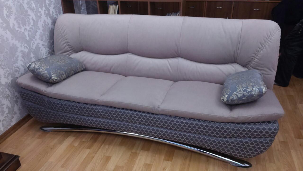 Перетяжка дивана с креслом. Перетяжка мягкой мебели Днепр.