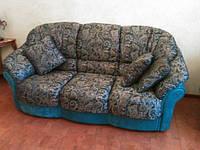 Перетяжка диванов, кресел и пуфов.