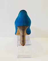 Туфли женские синие A.J.F., фото 3