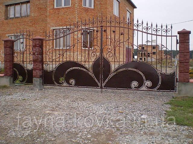 Кованые ворота 181