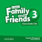 Family and Friends. 3. Class Audio CDs. 2 - nd Edition.