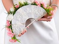 Свадебный букет -веер