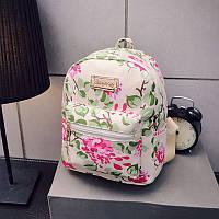 Женский городской рюкзак белый