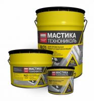 Мастика битумно-каучуковая №21 Техномаст 10 кг.