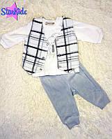 Велюровый костюмчик, Bonne baby (3 мес - 62 см) 62