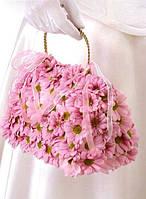 Свадебный букет-сумочка