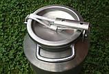 Бидон алюминиевый молочный  40 л  Калитва, фото 2