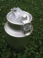 Бидон алюминиевый молочный  18 л  Демидов