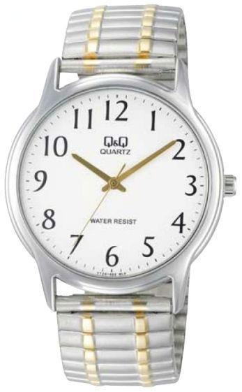 Часы Q&Q VY24J404Y оригинал классические наручные часы