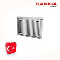 Стальной радиатор отопления SANICA тип22 500Х400 (688Вт)