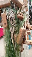 Рамовая наплавная сеть с нити, для промышленного лова