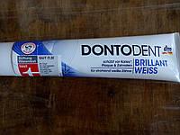 Отбеливающая зубная паста Dontodent Brillant-weiss 125 мл Германия