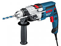 Дрель ударная двухскоростная Bosch GSB 19-2 RE (бзп)