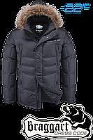Куртка зимняя мужская Braggart Dress Code - 4598A графит