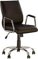Офисное кресло Виста чёрное (VISTA GTP CHROME ECO-30 Black)