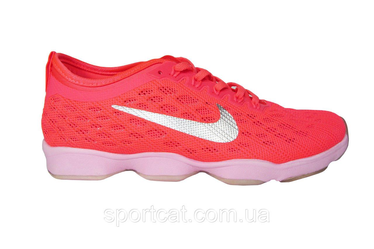 Женские  кроссовки Nike Zoom Fit Agility, сетка/текстиль, розовые, Р. 37