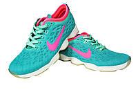 Женские  кроссовки Nike Zoom Fit Agility, сетка/текстиль, голубой, Р. 36 37 38 39