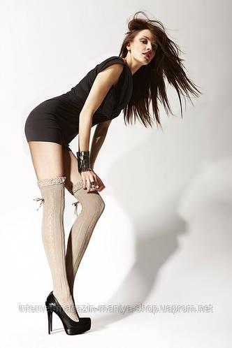 Над коленом - хлопчатобумажные носки 05 В.
