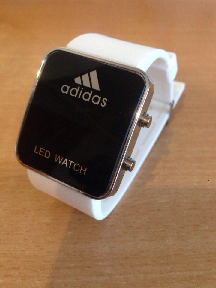 Спортивные часы LED WATCH, Лед белые ( код: IBW004O )