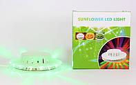Светодиодная диско лампа Ball 2015-4, светомузыка, проектор диско-диск Little Sun Led 48 диодов