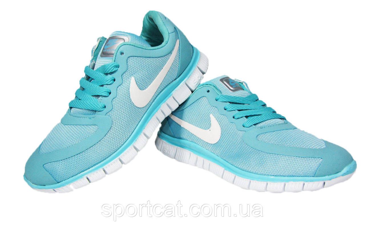Женские кроссовки Nike Air Max THEA, сетка/текстиль, голубой