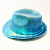 Шляпа концертная Eva (голубая)