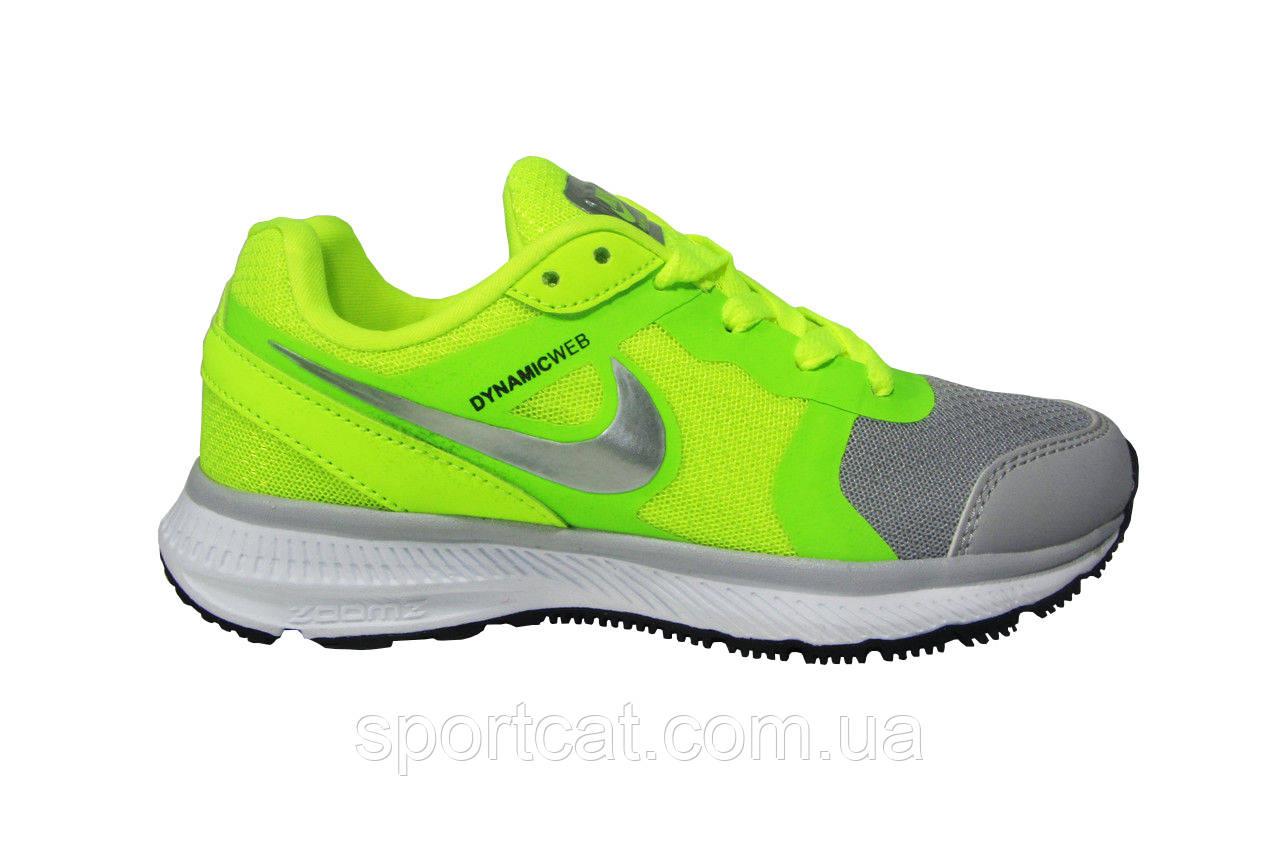 63484fde Женские кроссовки Nike Air Max THEA салатовые - Интернет-магазин