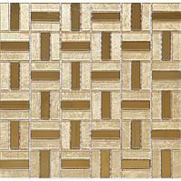 Золотая зеркальная мозаика Vivacer L1125