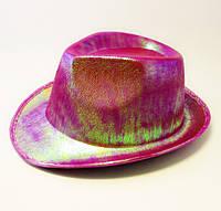 Шляпа концертная Eva (малиновая)