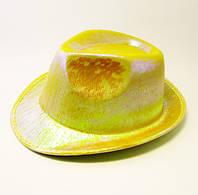 Шляпа концертная Eva (жёлтая)