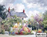 Картина на холсте по номерам MS 615 40x50см
