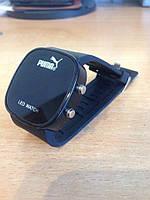 Спортивные часы Puma LED WATCH, Пума Лед черные