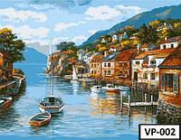 Картина на холсте по номерамVP 002 40x50см