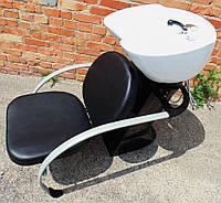"Кресло - мойка стационарная ""ДенІС professional"" - New York / Classic Blakc"