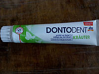 Зубная паста Dontodent Kräuter травы 125 мл Германия