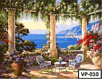 Картина на холсте по номерам  VP 010 40x50см