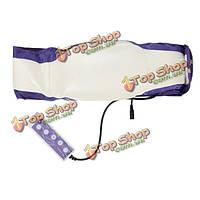 Электронный вибрационный отопление для похудения слим-массажа пояса похудеть живота талии обратно упражнений массажер