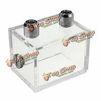 220мл акриловый резервуар для воды водяной охладитель радиатора системы охлаждения блока компьютера центрального процессора воды