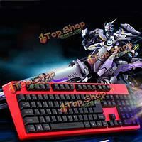 Motospeed k40 игровой клавиатуры USB Проводная Эргономичный дизайн красный человека