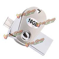 HSTD-155 USB3.0 микро USB 64g 32Гб 16Гб флэш-накопители U диск для ПК и OTG смартфон