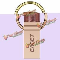 Eaget v90 USB 3.0 OTG 16/32/64Гб USB шифрования флэш-накопитель флэш-накопитель металлический материал