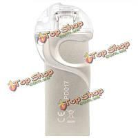Дм pd017 Micro USB к USB 3.0 16g / 32gb / 64gb флэш-накопитель для OTG смартфона ПК