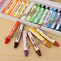 25 цветов нетоксичные карандаш пастель рисунок ручки художников черчение живописи