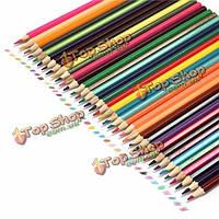 36 цветов рисования карандашами нетоксичных цветные шестигранные художников рисунок живопись