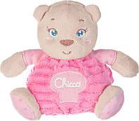 Игрушка мягкая Chicco Soft Cuddles Медвежонок 15см