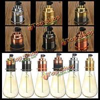 E27/E26 база старинных Эдисона нить колбы лампы кулон гнездо держатель светильника