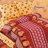 Совушки Бордо, комплект постельного белья подростковый